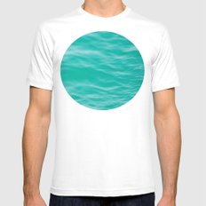 Dreamy MEDIUM White Mens Fitted Tee