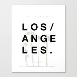 Los Angeles. Canvas Print