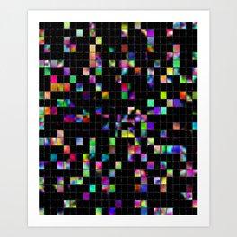 Scattered Art Print