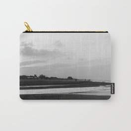 Sunset on the beach in Mediterranean Sea Carry-All Pouch