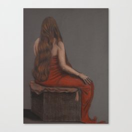 Danielle's Tresses Canvas Print