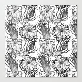 Tillandsia Tile Canvas Print