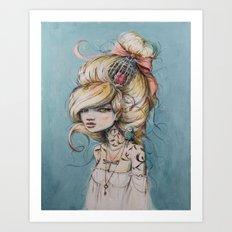 My Caged Heart Art Print