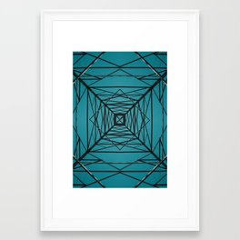 Current Framed Art Print