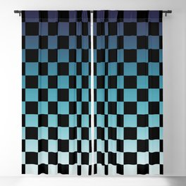 Chessboard Gradient III Blackout Curtain