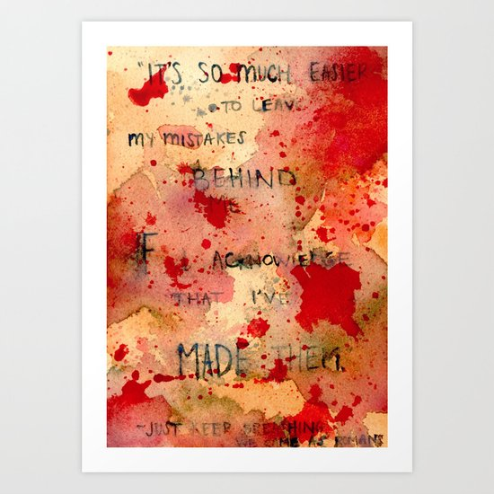 Breathing Art Print