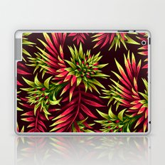 Aechmea Fasciata - Green/Pink Laptop & iPad Skin