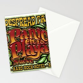 WIDESPREAD PANIC - PANIC EN LA PLAYA NUEVE 2020 Stationery Cards