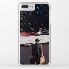 the point of no return Clear iPhone Case