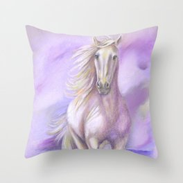 Dream Horse - Horse Painting Throw Pillow