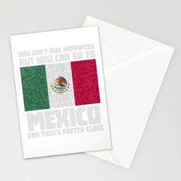 Mexico Mexicans Mexican Flag Stationery Cards