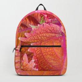 Coleus Leaves Backpack
