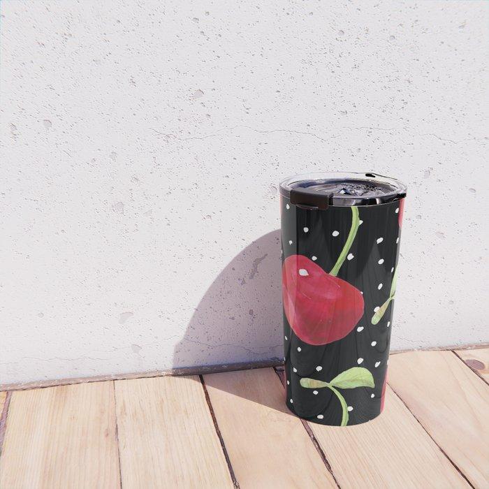 Cherry pattern III Travel Mug