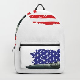 F15 Fighter Eagle for Military Aviation Fan  Product Backpack