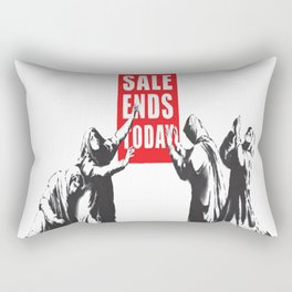 Banksy art Rectangular Pillow