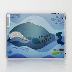 Traveling whale Laptop & iPad Skin