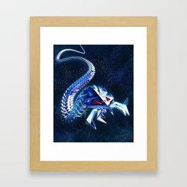 Metallic Isopod Framed Art Print