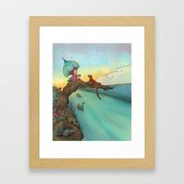 Under cover Framed Art Print