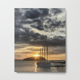 Sunrise Bar Harbor Maine Metal Print