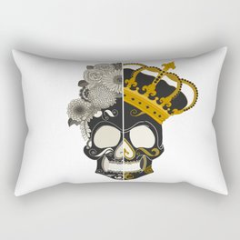 The Skull Equals Rectangular Pillow