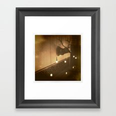 central Framed Art Print