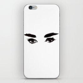 Audrey's eyes iPhone Skin
