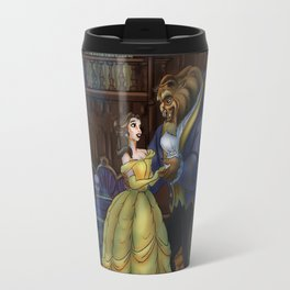 Haunted Beauty and the Beast by Topher Adam 2017 Travel Mug