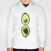 avocado Hoodies featuring Avocado by Sam Luotonen