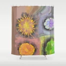 Stibiated In Dishabille Flower  ID:16165-125308-23431 Shower Curtain