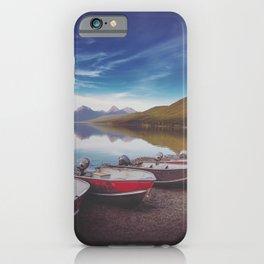 Lake McDonald Shore iPhone Case