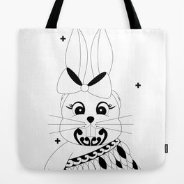 Miss Rapeti (monochrome) Tote Bag