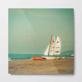 Waiting for the wind Metal Print