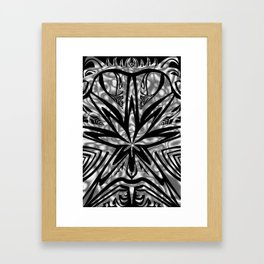 bud buggin gray Framed Art Print