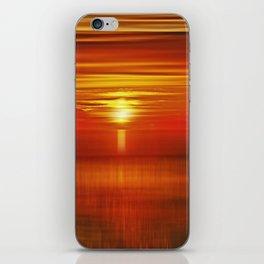 Irish Sea Sunset iPhone Skin