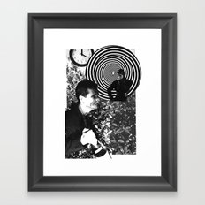 Spiraling Hopes Framed Art Print