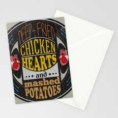Chicken Hearts Stationery Cards