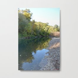 Where Canoes and Raccoons Go Series, No.10 Metal Print
