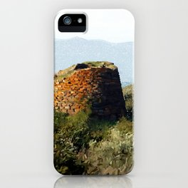 Nuraghe 1500 B.C. iPhone Case