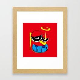 MOOD (Original Characters Art By AKIRA) Framed Art Print