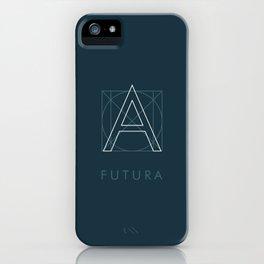 Futura Blue iPhone Case