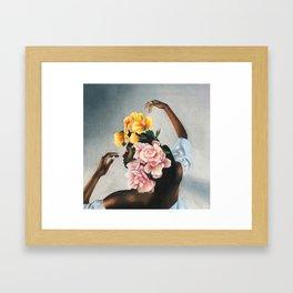 Floral study Framed Art Print