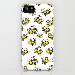 I love Bees iPhone Case