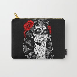 Girl With Sugar Skull, Day of the Dead Carry-All Pouch