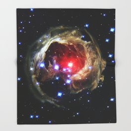 Monocerotis Throw Blanket