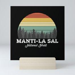 MANTI-LA SAL UTAH Mini Art Print