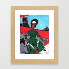 Wolf Mom Framed Art Print
