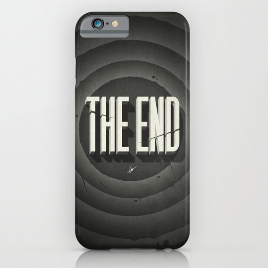 The End iPhone & iPod Case
