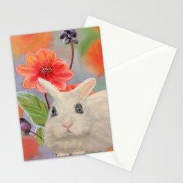 White Dwarf Bunny Stationery Cards