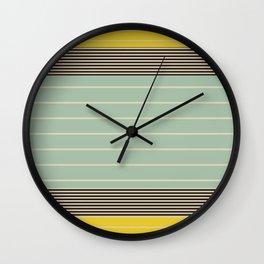 Stripe Pattern VI Wall Clock
