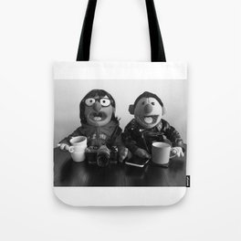 Modern Puppet Gothic Tote Bag